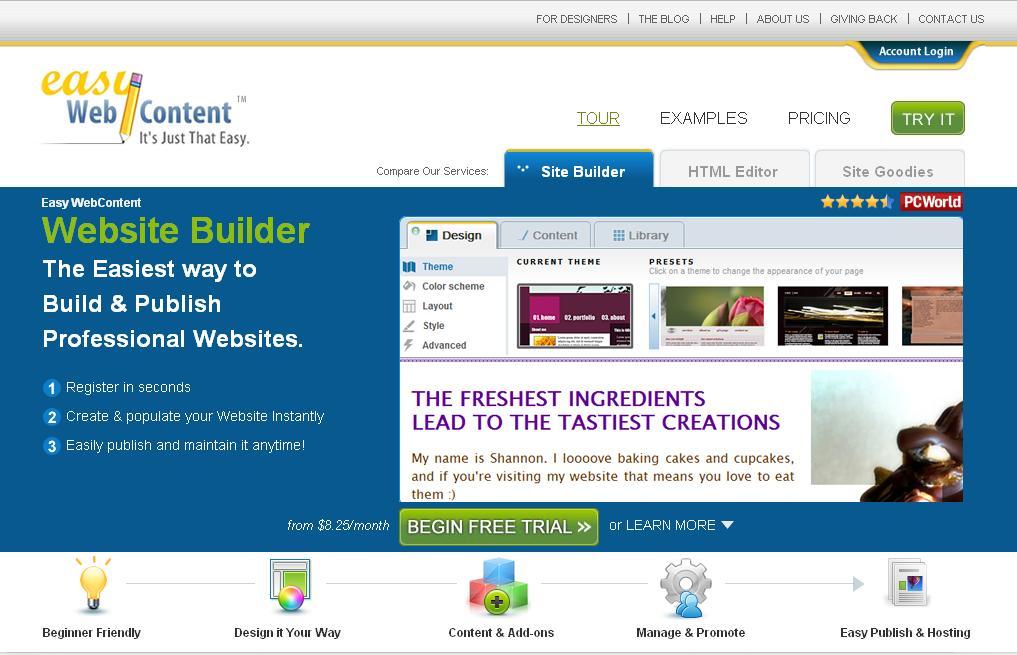 Benefits Of A Website Builder: build easy website