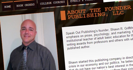 Speak Out Publishing Shawn Griffith