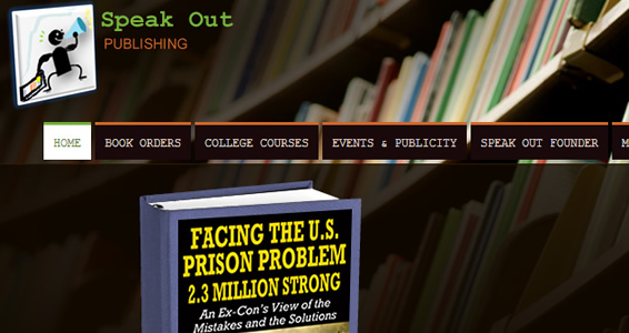 Site Builder - Speakout Publishing Website