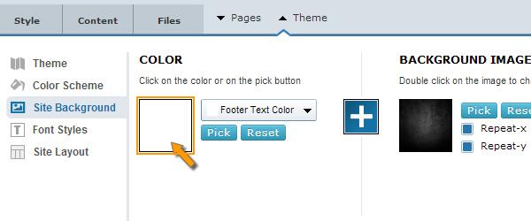 Website Background Color