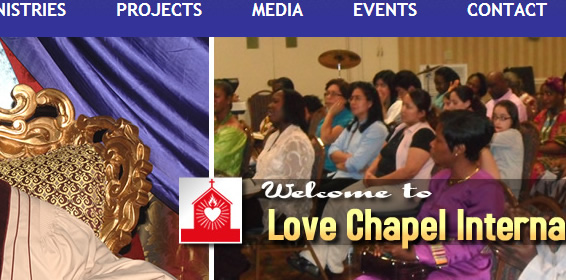 Create website for my church